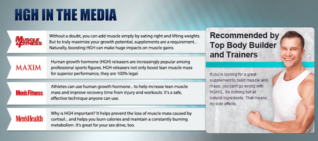 HGH in the media